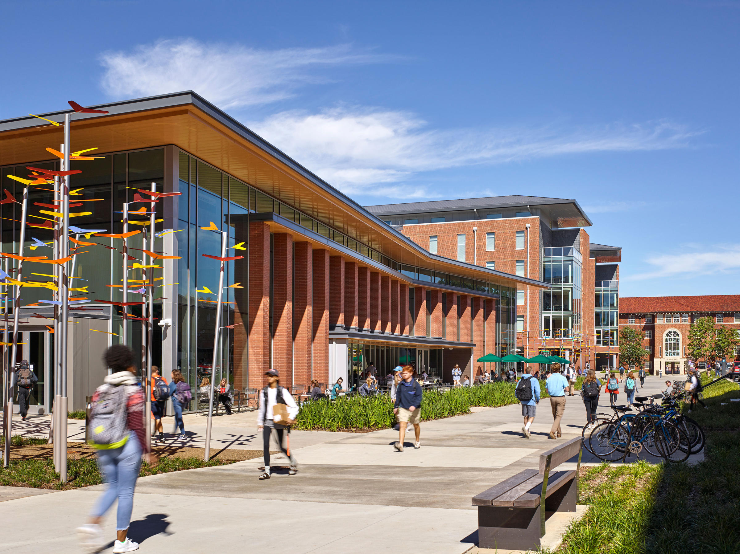 Clemson University Core Campus Dining, Housing + Honors College