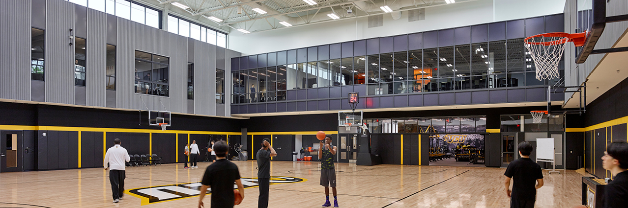 Inside the VCU Basketball Development Center