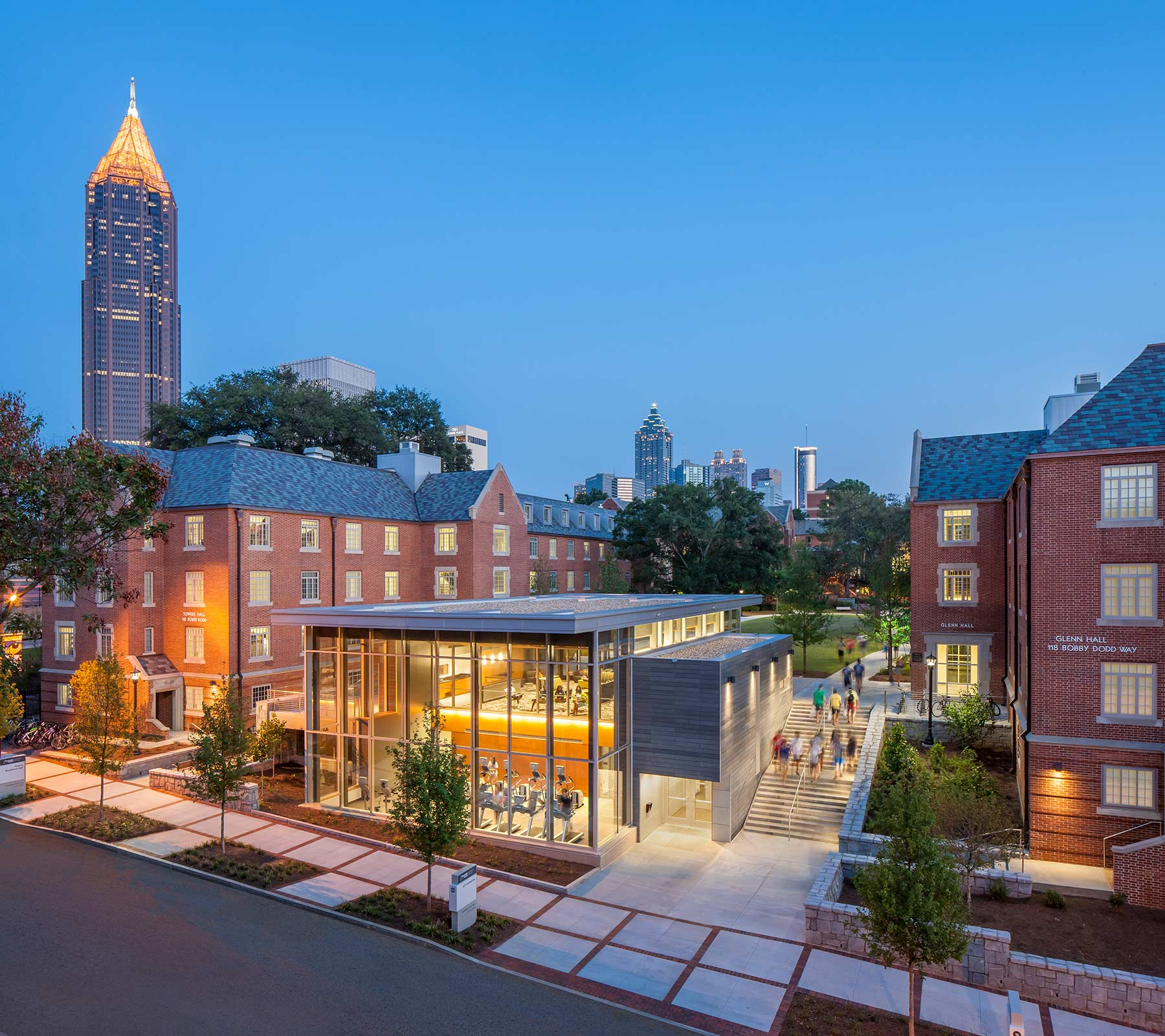 Georgia Tech Glenn & Towers Renovation & Addition