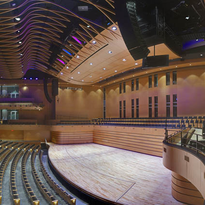 The First of Its Kind – Liberty's School of Music and Concert Hall