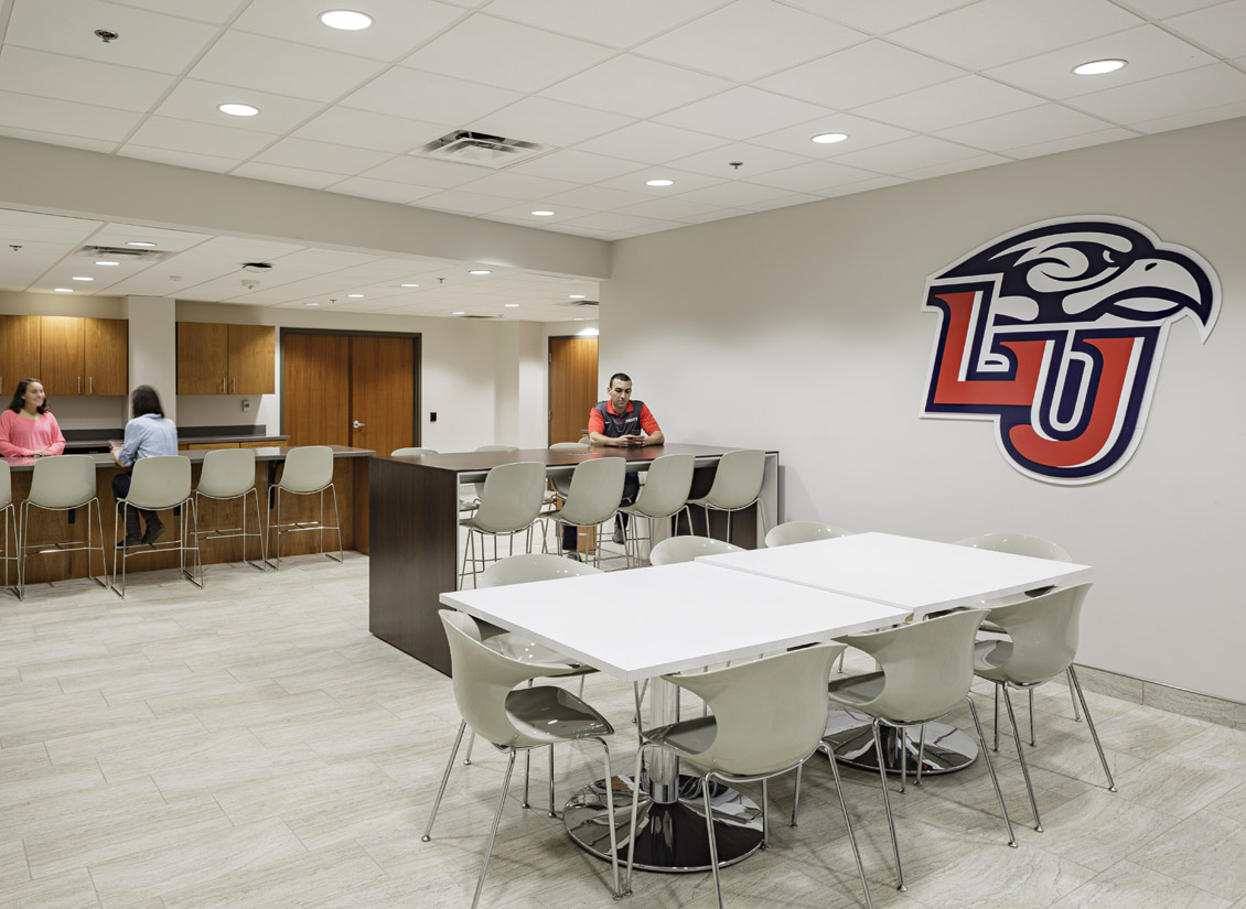 VMDO also completed locker room renovations and updates to the Vines Center weight room.