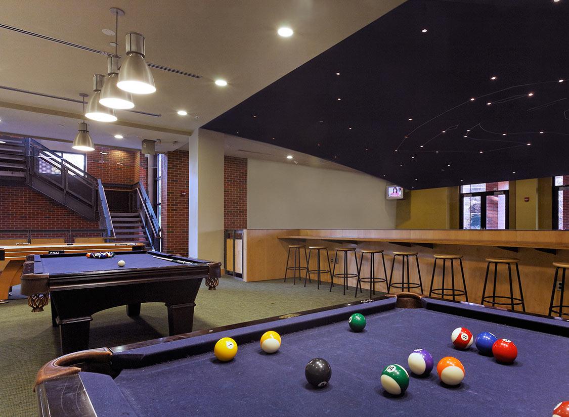 Campus Life Game Room Ideas