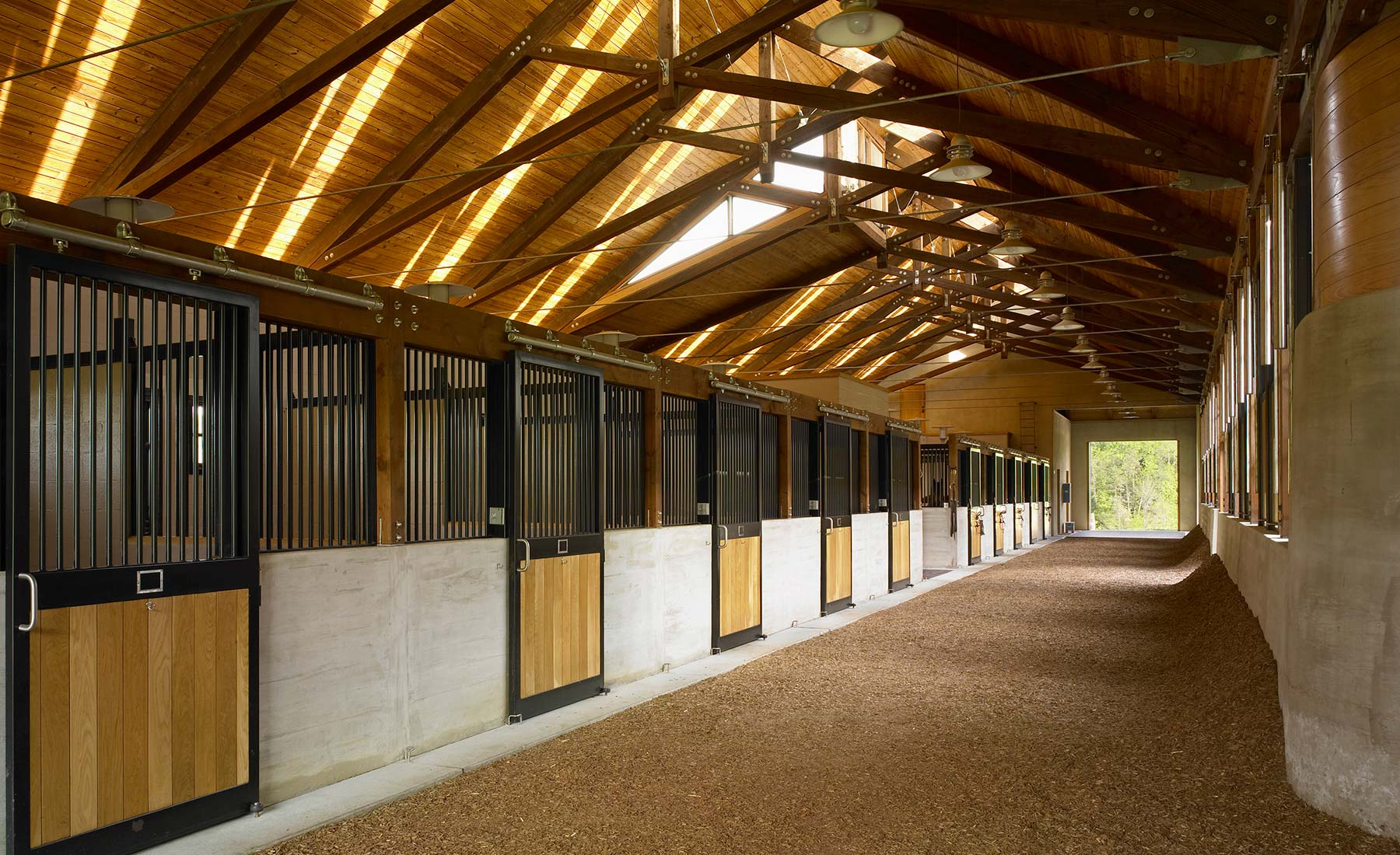 Burning Daylight Stables Architecture and Design