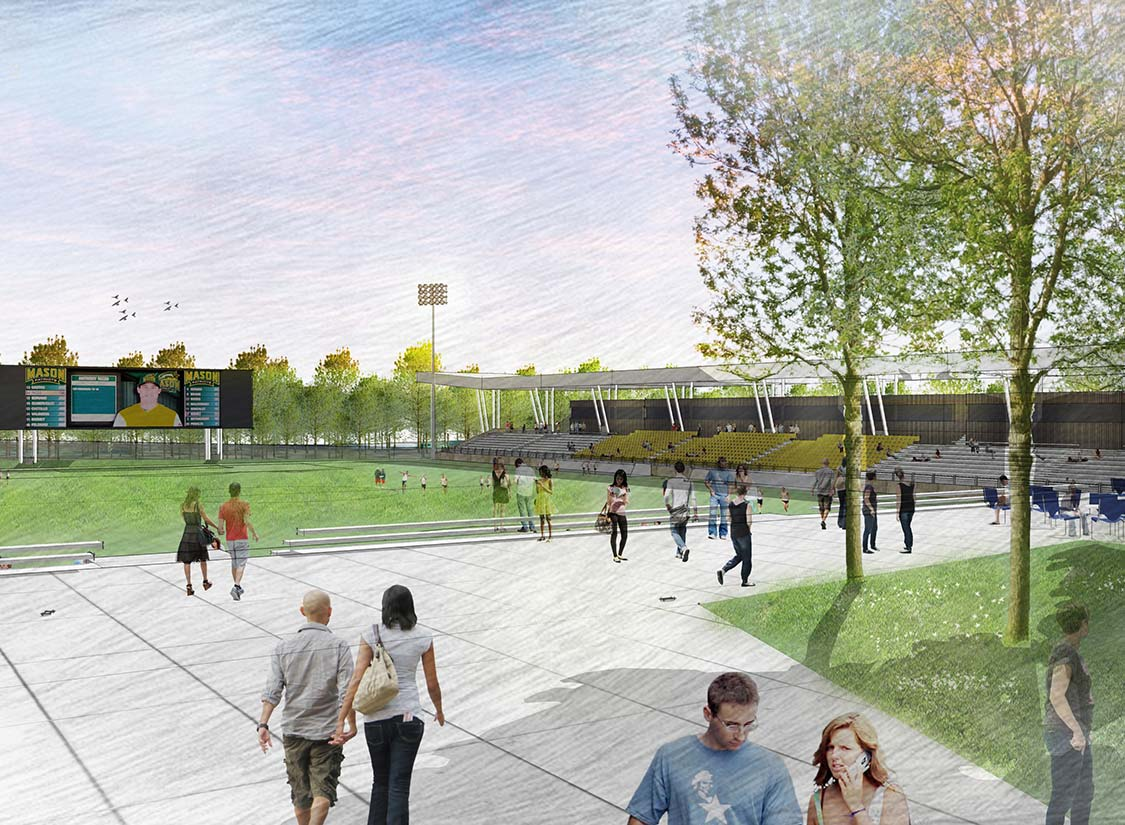 George Mason University Patriot Park Stadium Architecture and Design