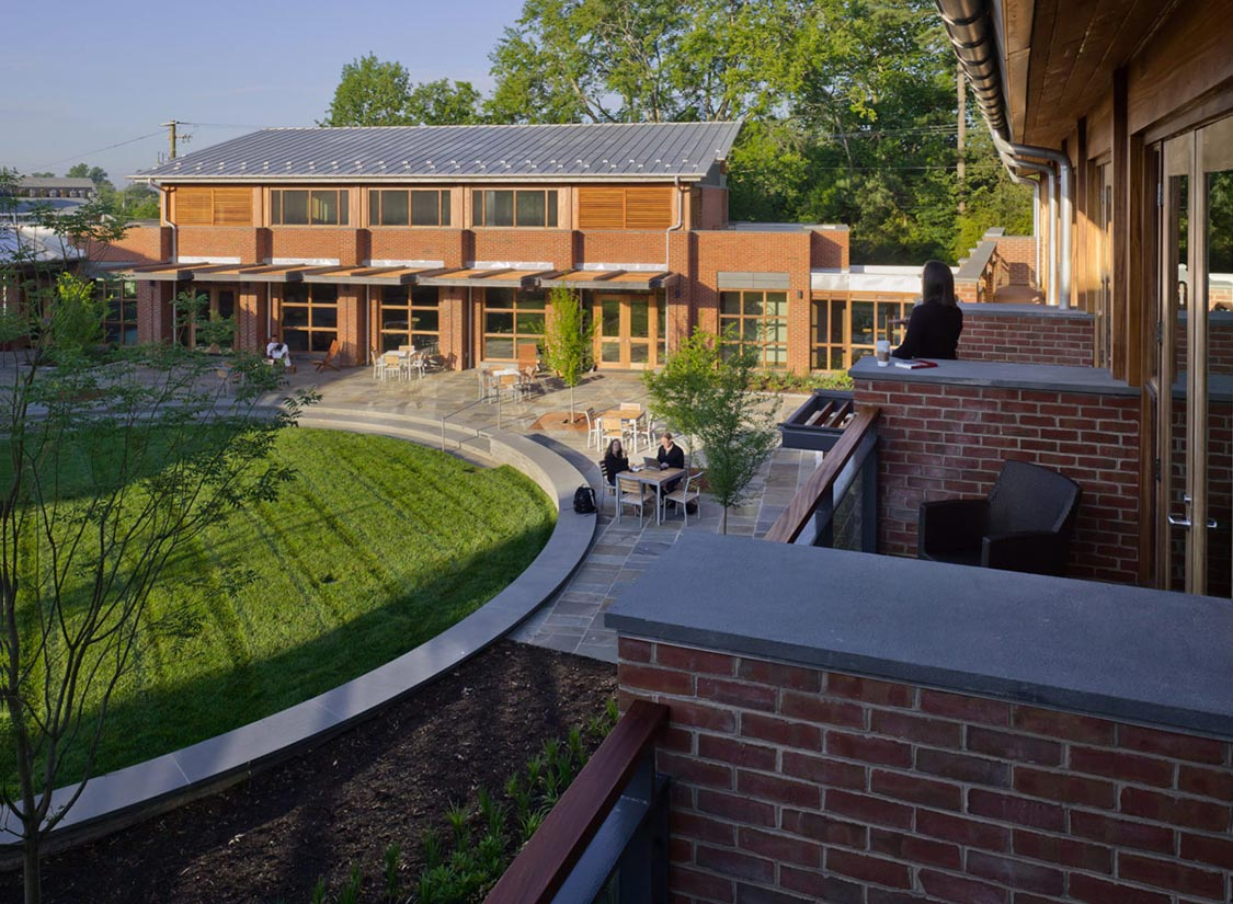 Graduate Center for Jefferson Fellows - VMDO Architects on