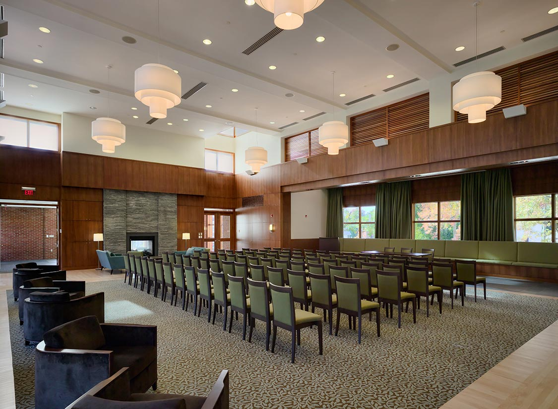 Jefferson Fellows Graduate Center Design