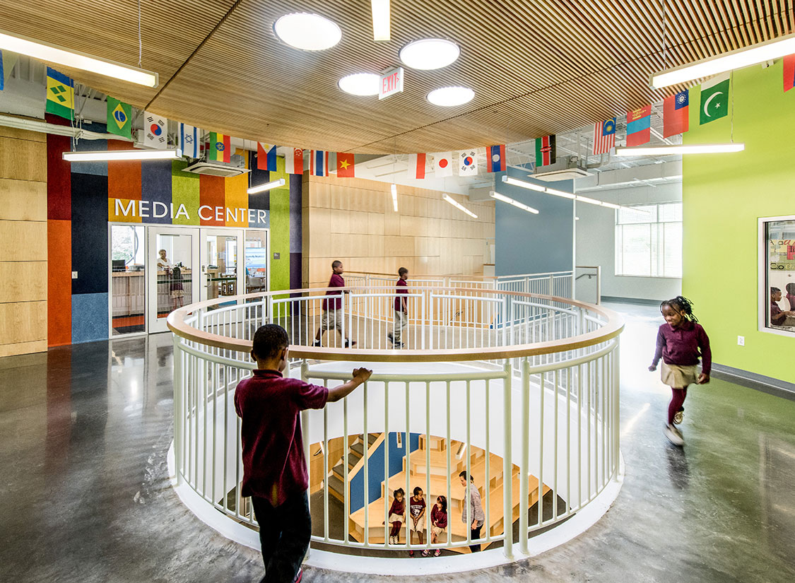 Jefferson Houston PreK-8 School Architecture & Design