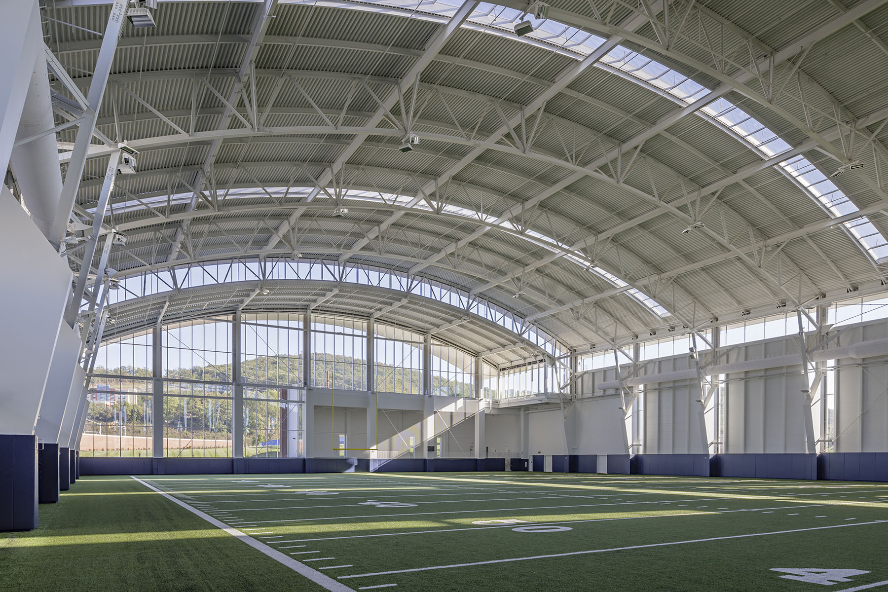 Liberty University Indoor Practice Facility Vmdo Architects