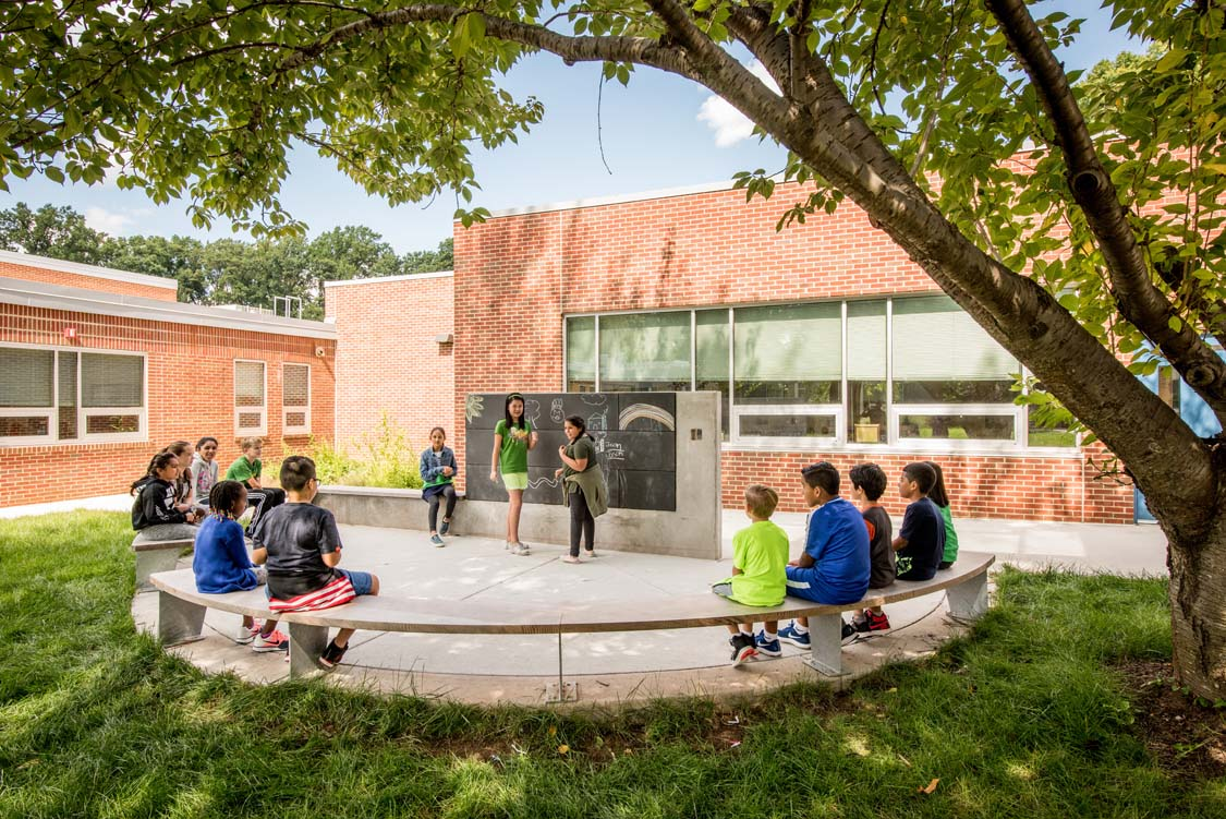 Outdoor Classroom at North Springfield Elementary School