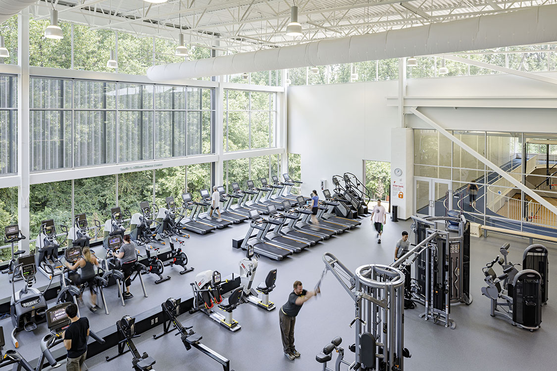 Fitness Center at Brooks Family YMCA