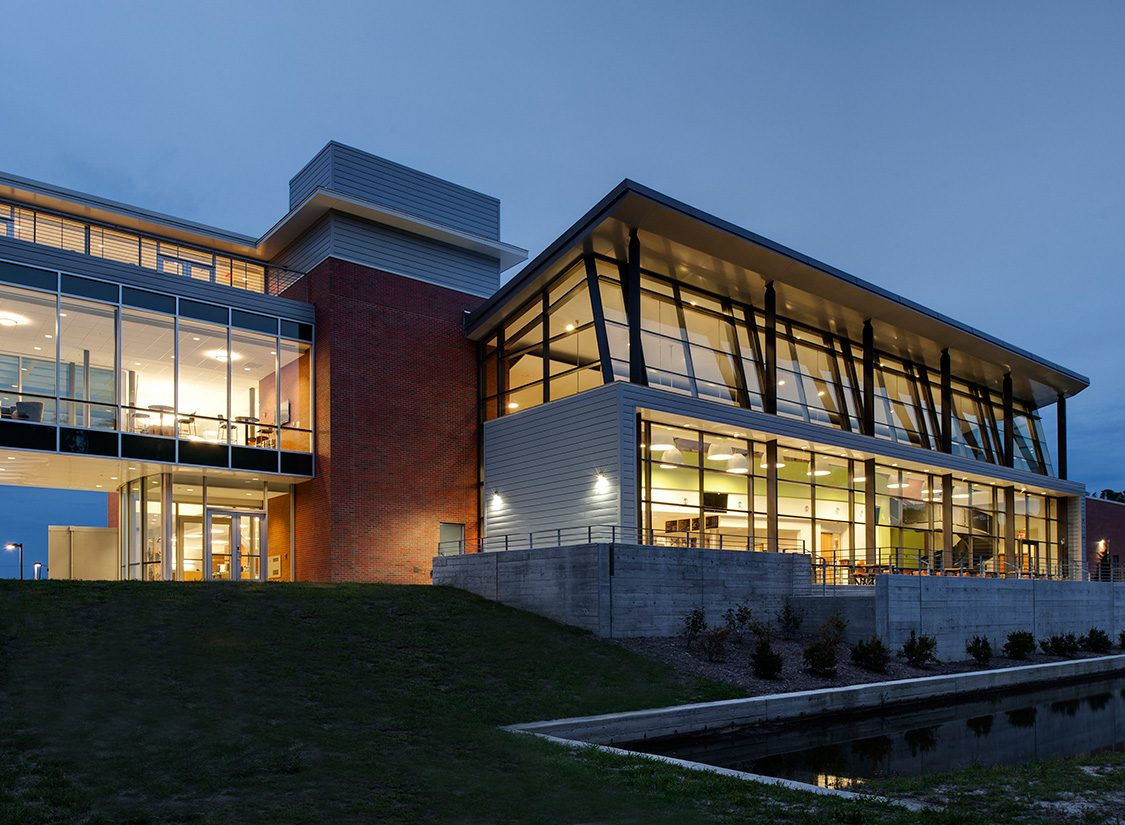 The Student Center is a focal point and gathering place for students, faculty and visitors at the College.