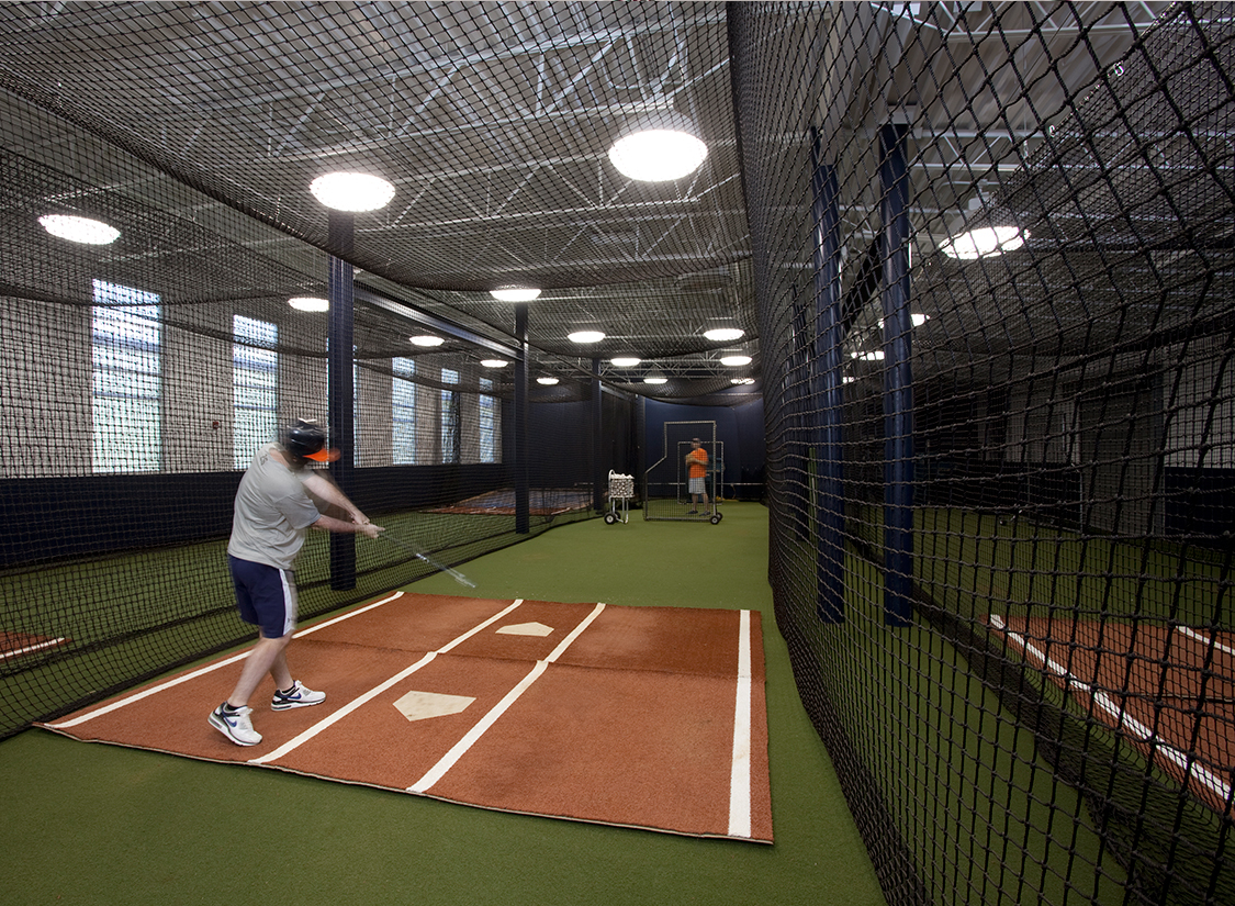 University of Virginia Baseball Stadium at Davenport Field Batting Cages