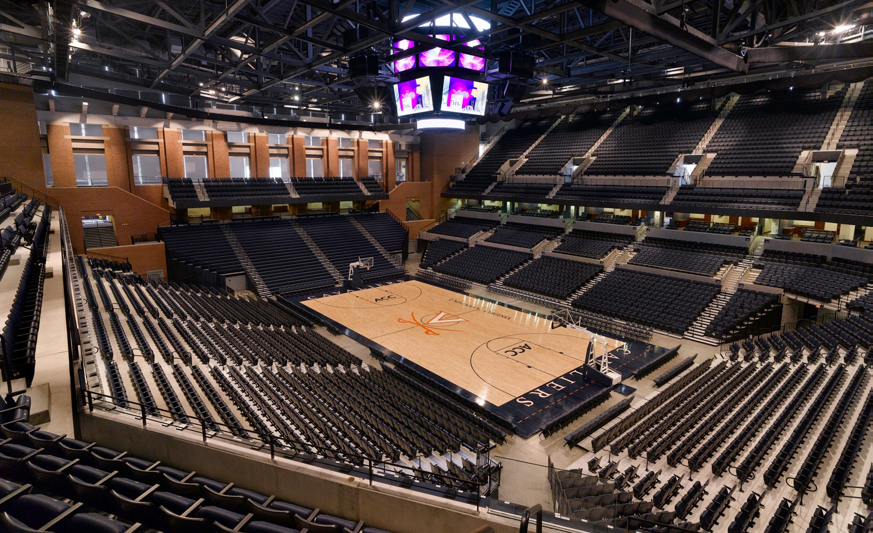 University of Virginia John Paul Jones Arena - VMDO Architects