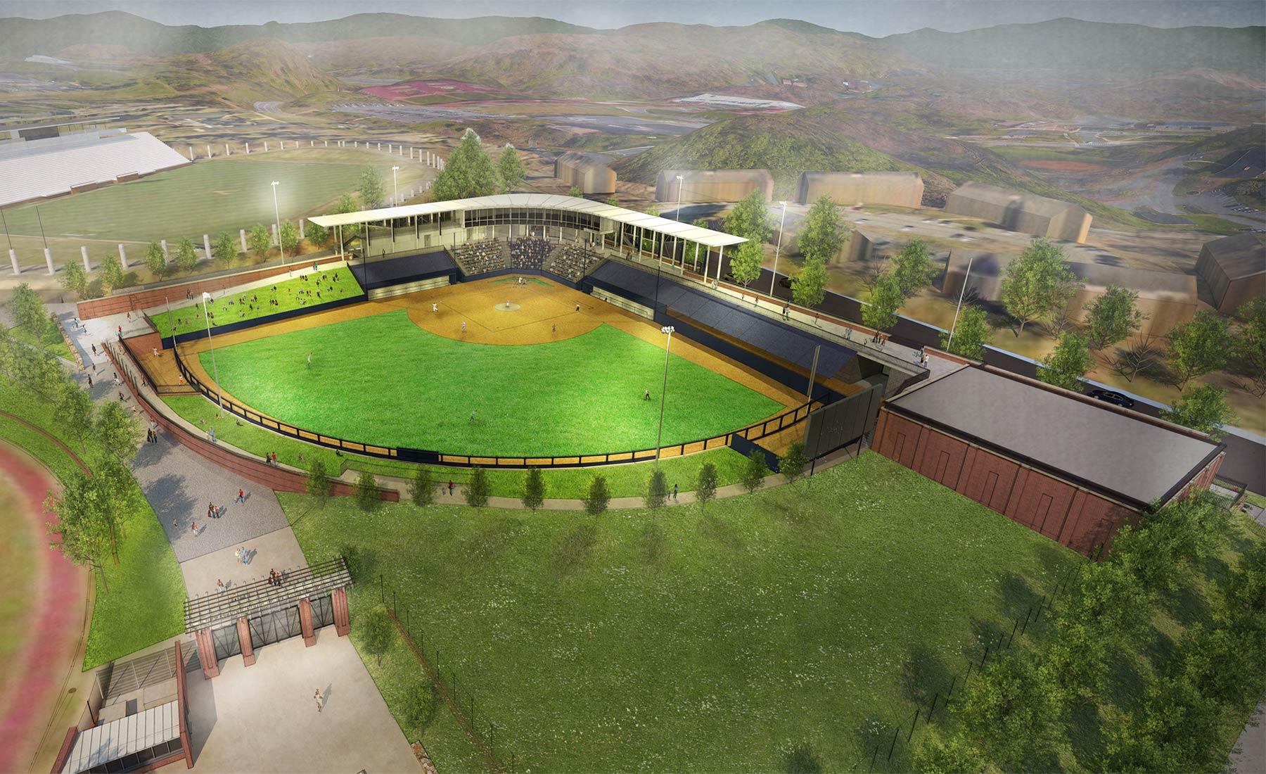 University Of Virginia Softball Stadium Vmdo Architects