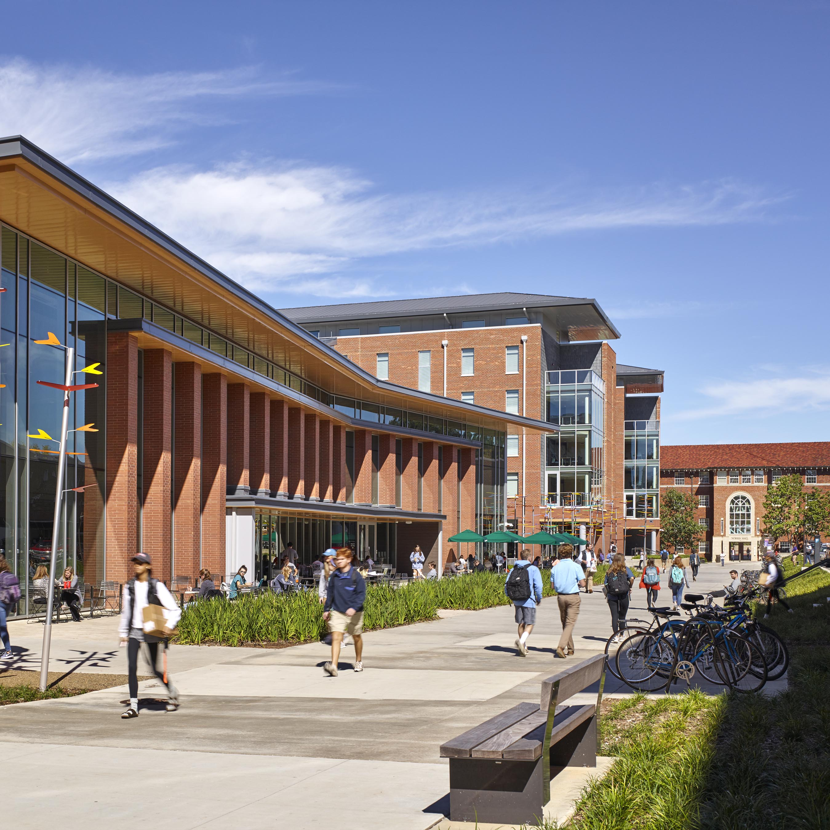 Clemson University Core Campus Dining, Housing + Honors