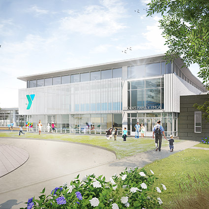 Brooks family ymca work vmdo architects for Garden city ymca pool schedule